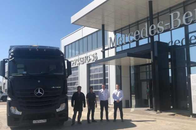 «ГрузАвто-36» – официальный дилер Mercedes-Benz