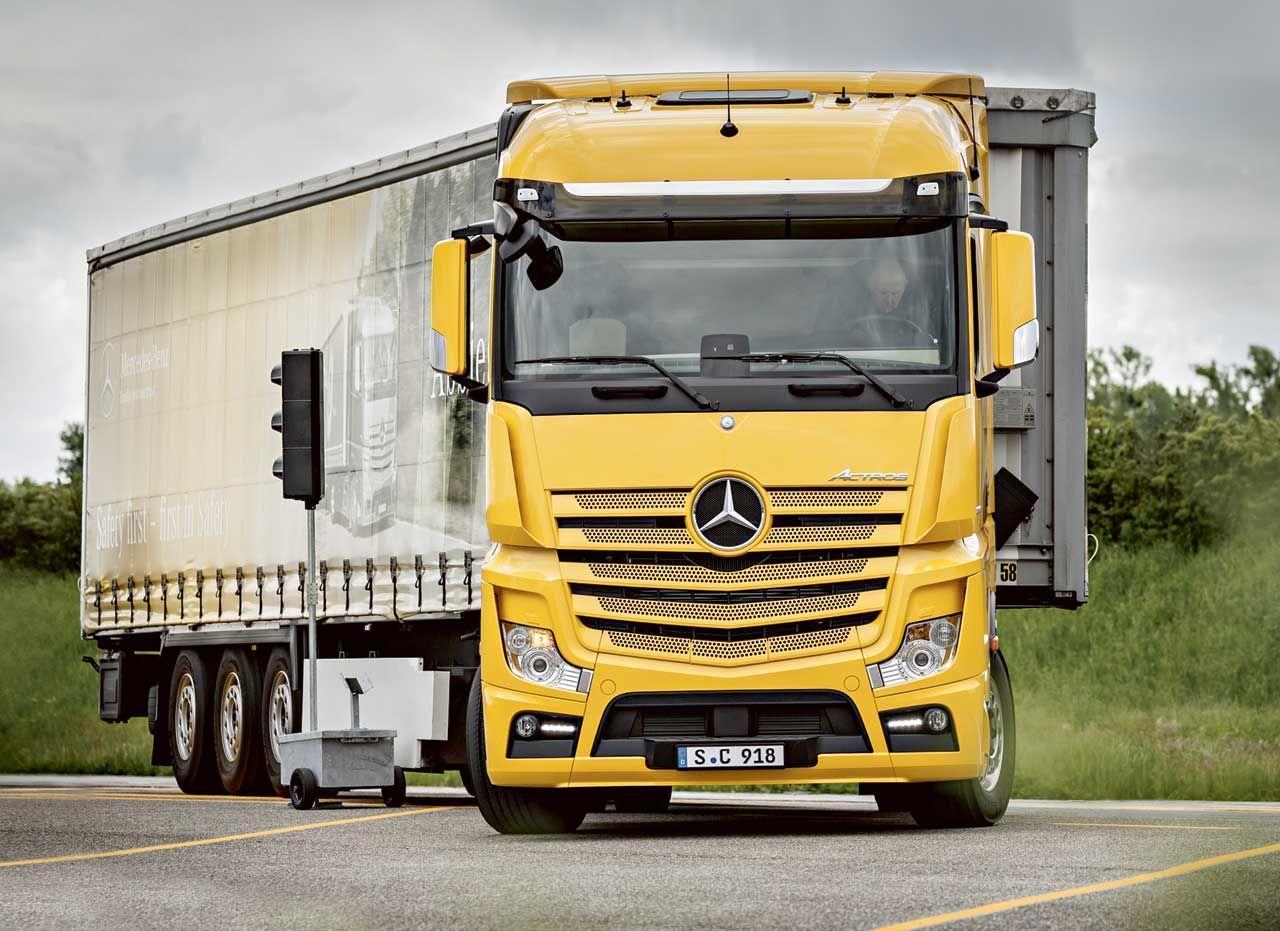 Ремонт грузовых автомобилей Mercedes